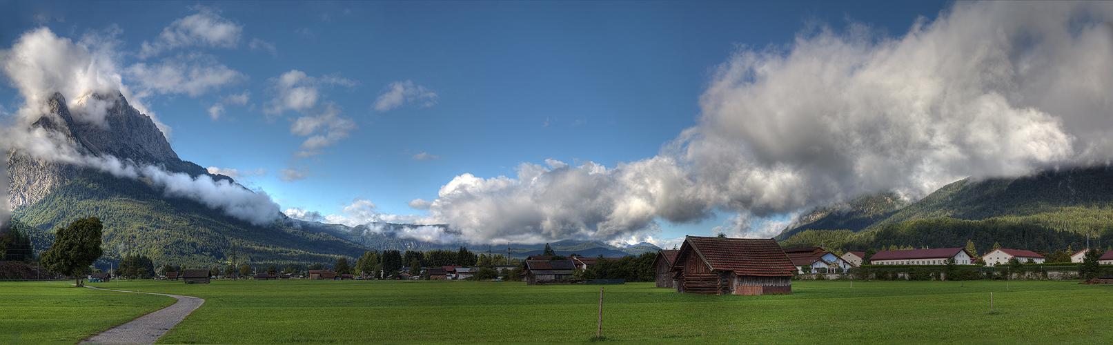 Wenn die Wolke