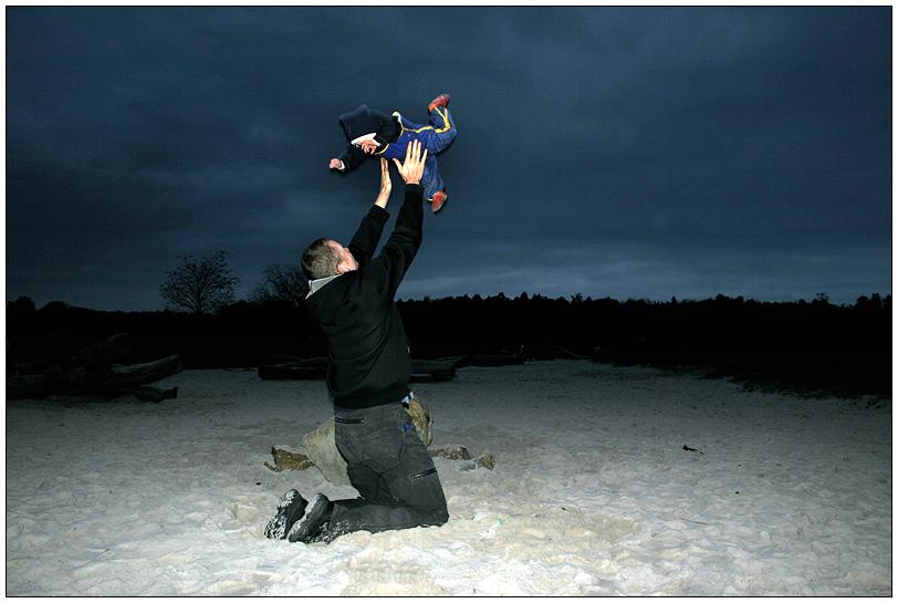 Wenn ein Kind vom Himmel fällt