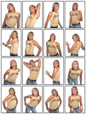 Wenn ein Model durchdreht und die Fotografin vor Lachen auf Serienbilder umstellt [reloaded]