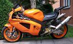 Wenn ein Motorrad