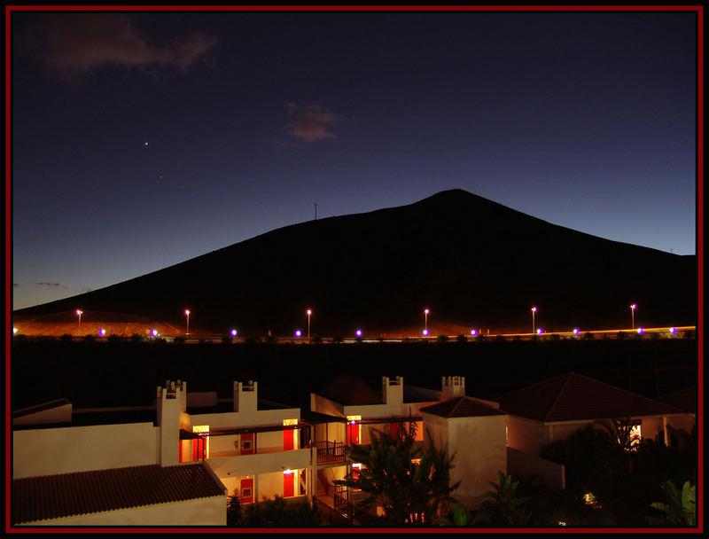 Wenn es Dunkel wird auf Fuerteventura