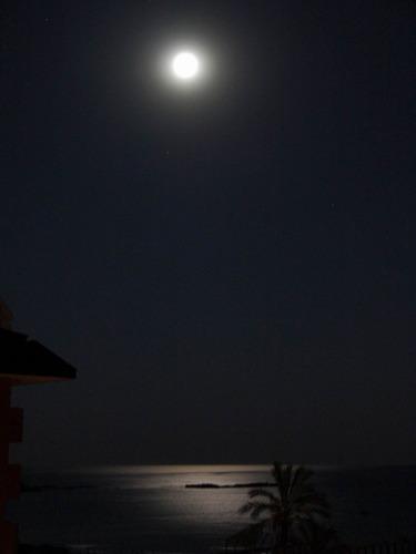 Wenn es Nacht ist am türkischen Mittelmeer