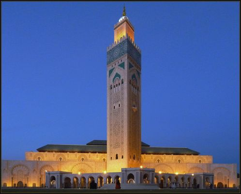 Wenn es Nacht wird in Casablanca