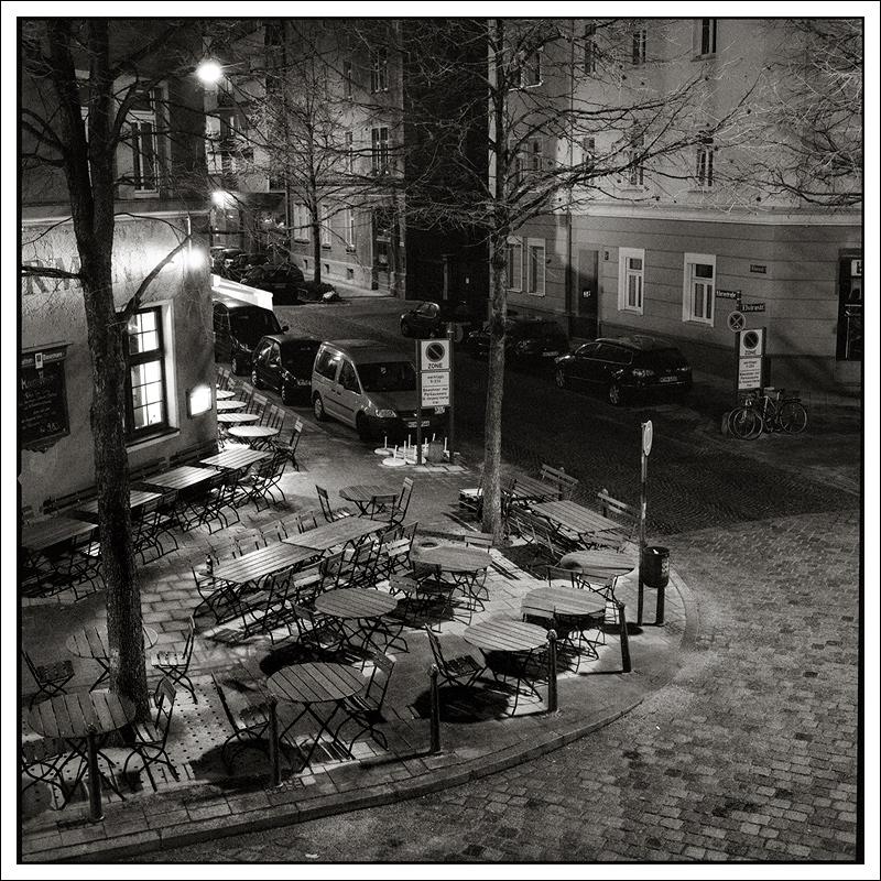 wenn es Nacht wird in München...