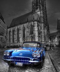 * Wenn es Nacht wird in Münster, dann kommen die Schönheiten besonders zur Geltung