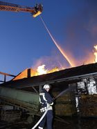 Wenn Holz anfängt zu brennen, dann hört es so schnell nicht mehr auf