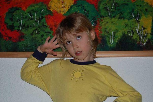 Wenn ich mal groß bin, werde ich model.......