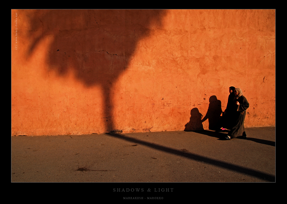 Wenn Licht und Schatten die Wege kreuzen...