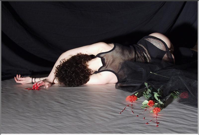 Wenn Rosen bluten ...