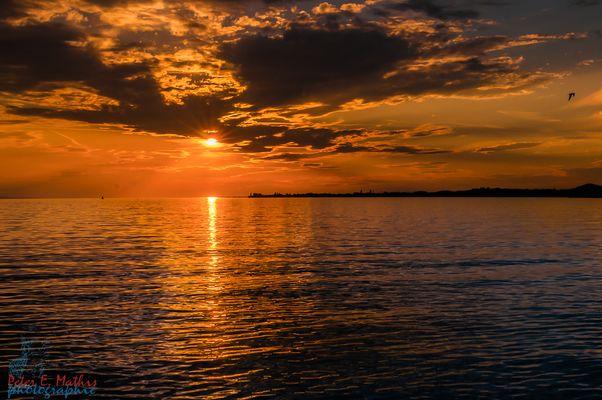 Wenn See und Himmel verschmelzen