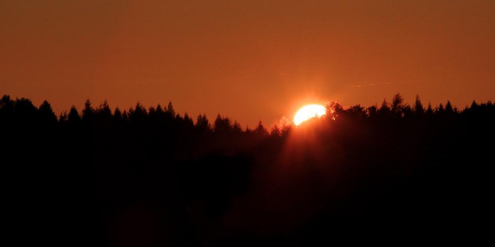 Wenn sich die Sonne schlafen legt...