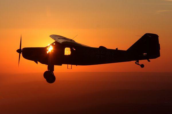 Wenn sich frühes Aufstehen lohnt, Sonnenaufgangsfliegen 2012