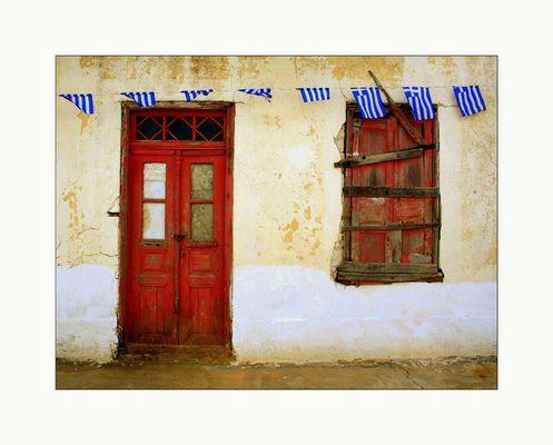 Wenn Türen reden könnten...erzählten sie die Geschichte von Karpathos