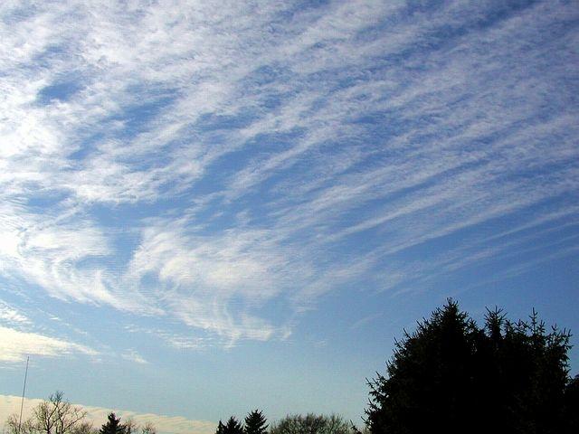 ...wenn Wolken die Kurve kratzen...