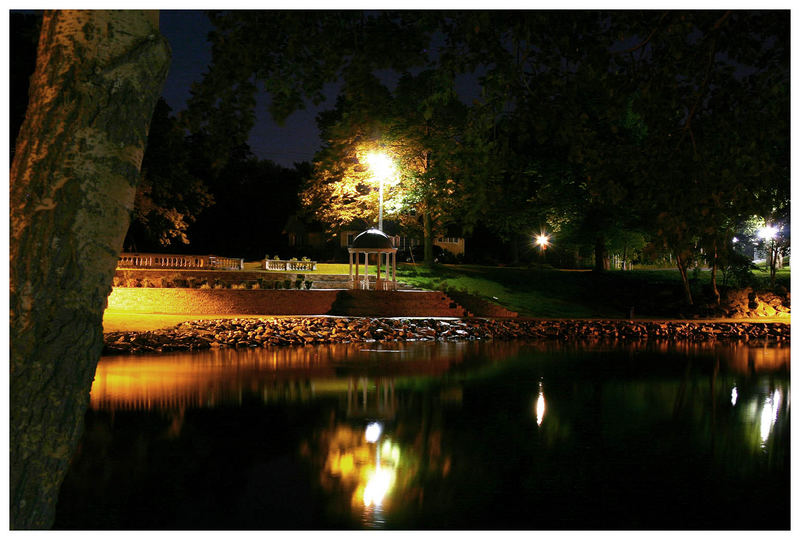 Wentworth Park at Night