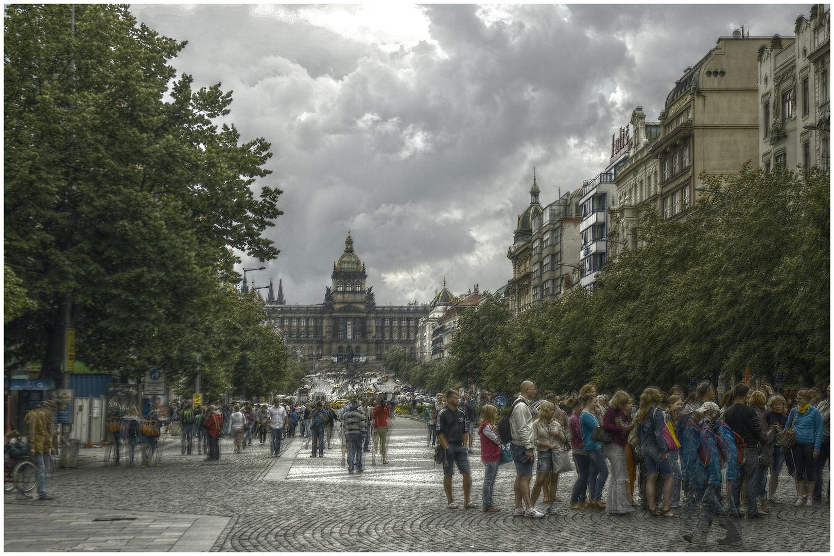 Wenzelsplatz Prag