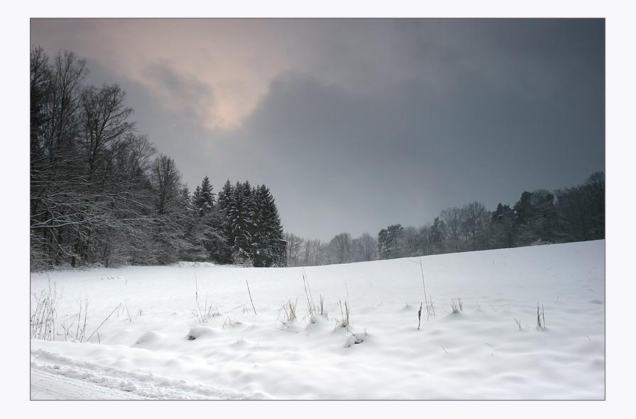Wer braucht schon Sonne um Schnee zu fotografieren?