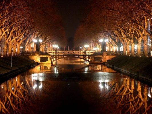 Wer hat die Königsallee (Kö) in Düsseldorf je so gesehen?