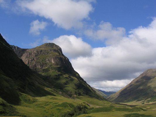 Wer hat gesagt es gibt nur Regen in Schottland?