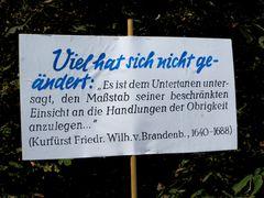 Wer ist da beschränkt? Protest gegen Stuttgart 21 Anno 2010