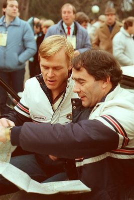 Wer ist das ? - Monte Start 1983 Bad Homburg Kurpark OPEL