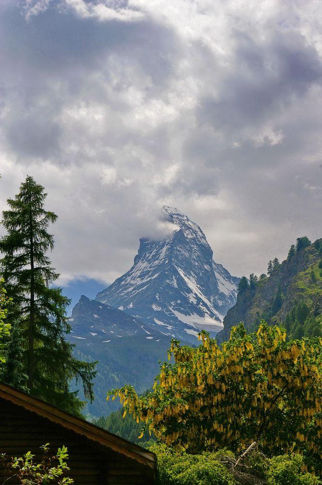 Wer kennt diesen Berg nicht?