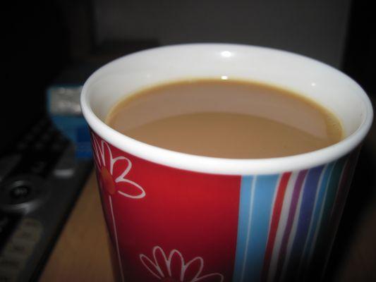 Wer möchte Kaffee?