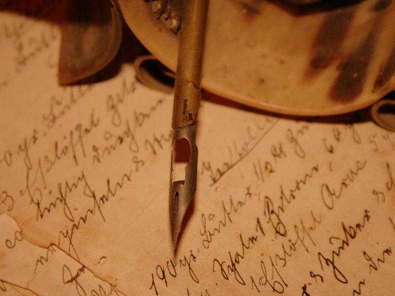 Wer schreibt bleibt