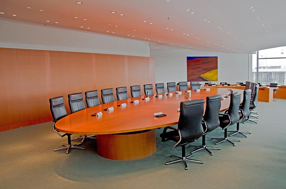 Wer sitzt demnächst an diesem Tisch?
