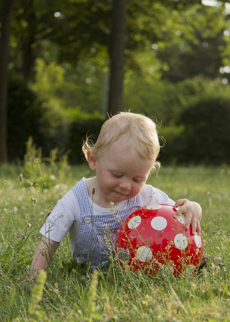 Wer spielt mit mir Ball....