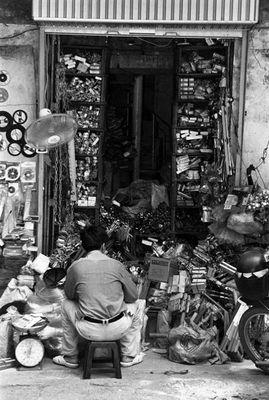 Wer suchet der findet - Verkäufer in Hanoi