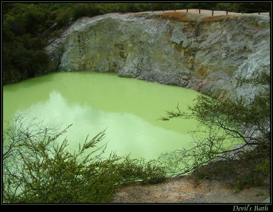 Wer will darin schon baden?