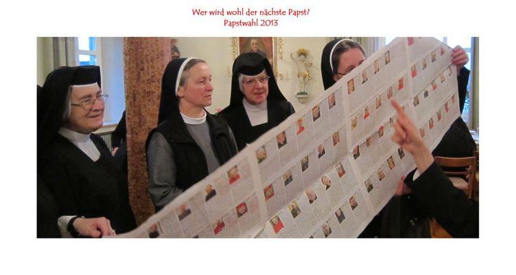 Wer wird wohl der nächste Papst?