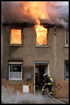 Wer würde das Feuer löschen...
