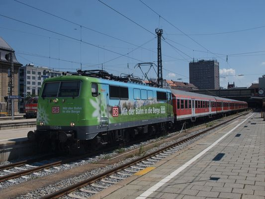 Werbe 111er in München