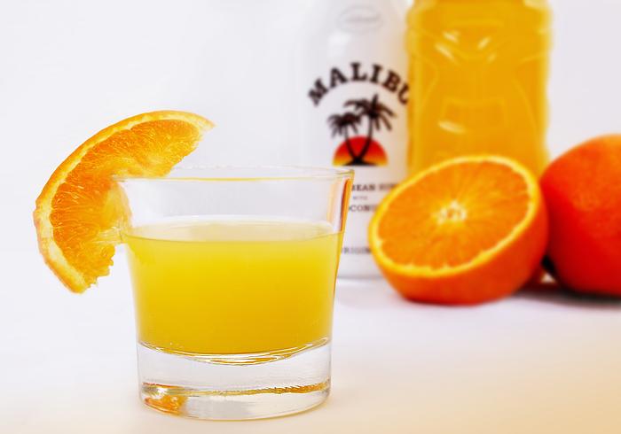 Werbeaufnahme *Malibu Orange*