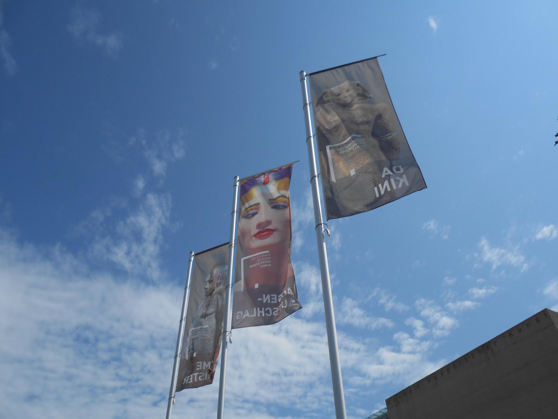 Werbung für das Museum