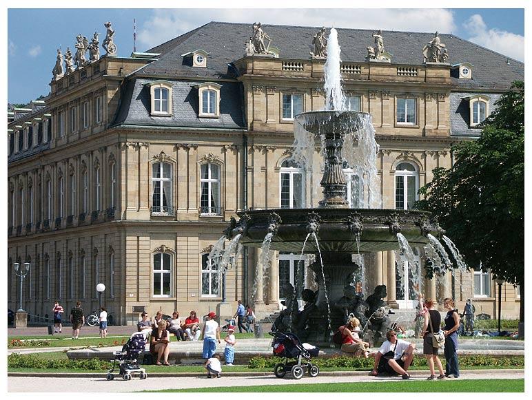 Werbung für eine Stuttgart-Sektion