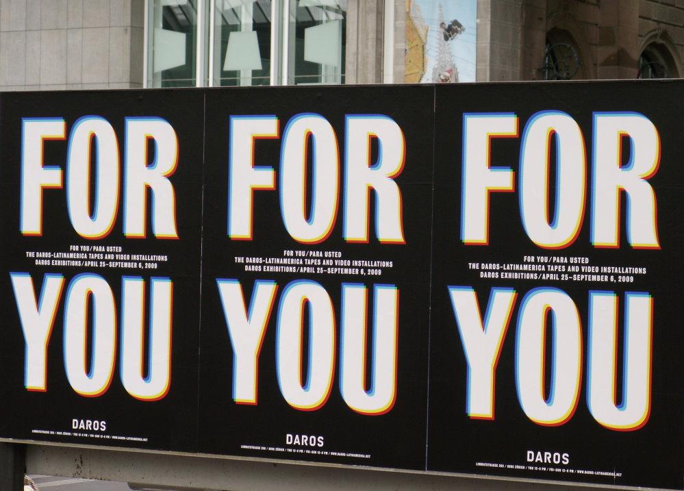 Werbung im Züricher Hbf