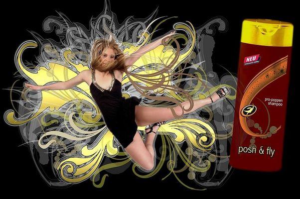 Werbung verkehrt - Posh & Fly
