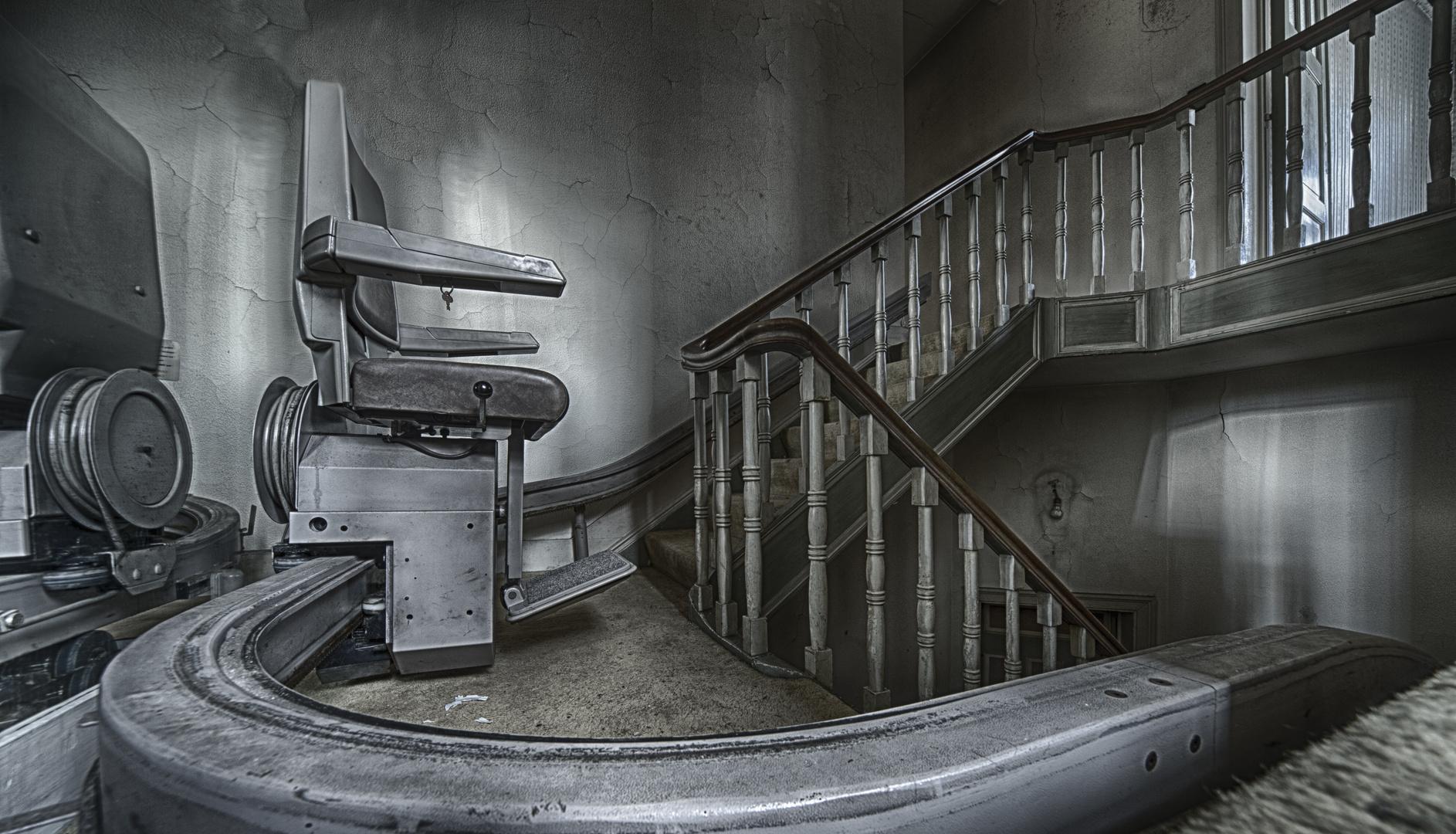 Werde langsam zu faul, um immer die Treppen hochzusteigen;-)