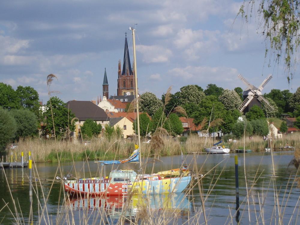 Werder an der Havel nach dem Baumblütenfest