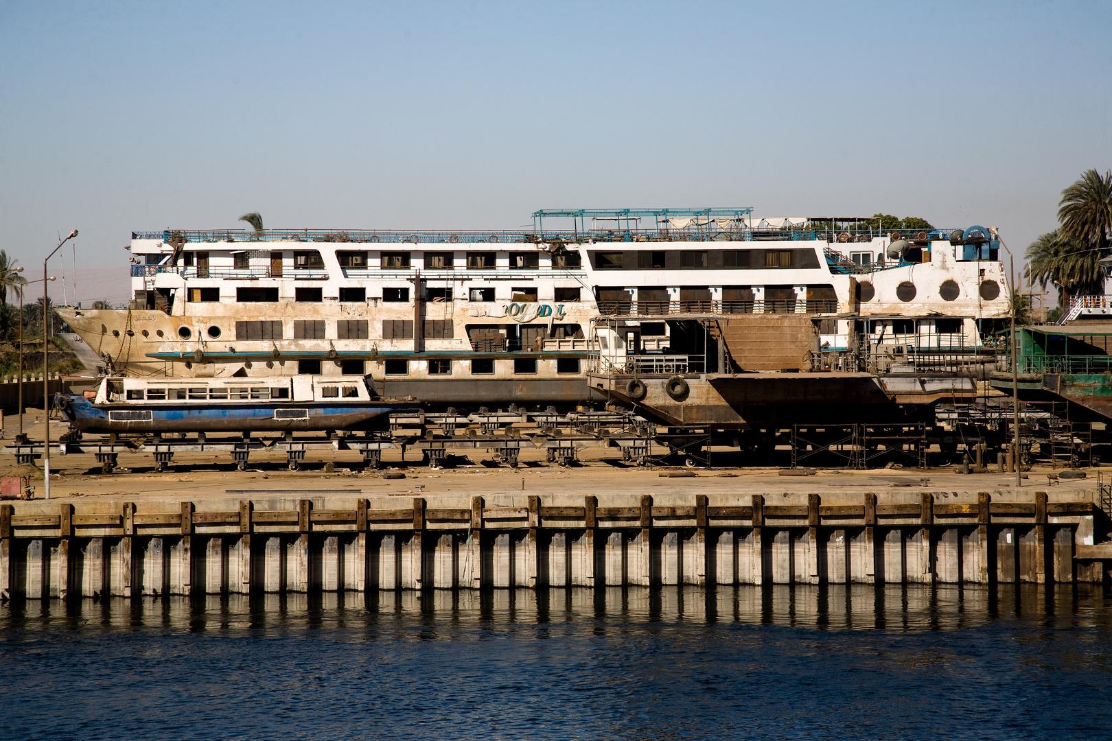 Werft bei Luxor