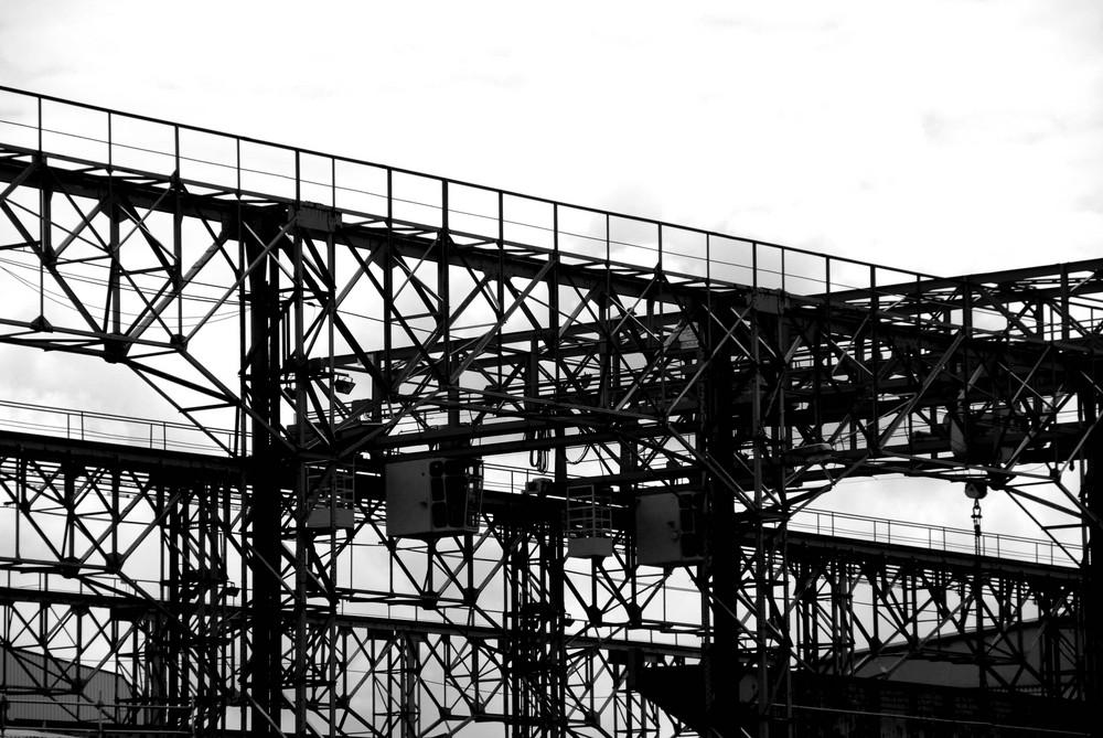 Werftkrananlage in Bremerhaven