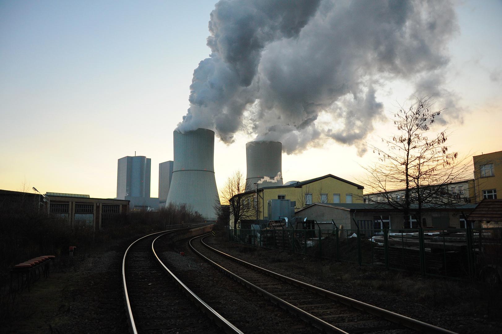 Werkbahn und Kraftwerk