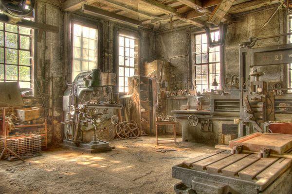 Werkstatt einer alten Giesserei