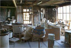 Werkstatt eines Töpfers