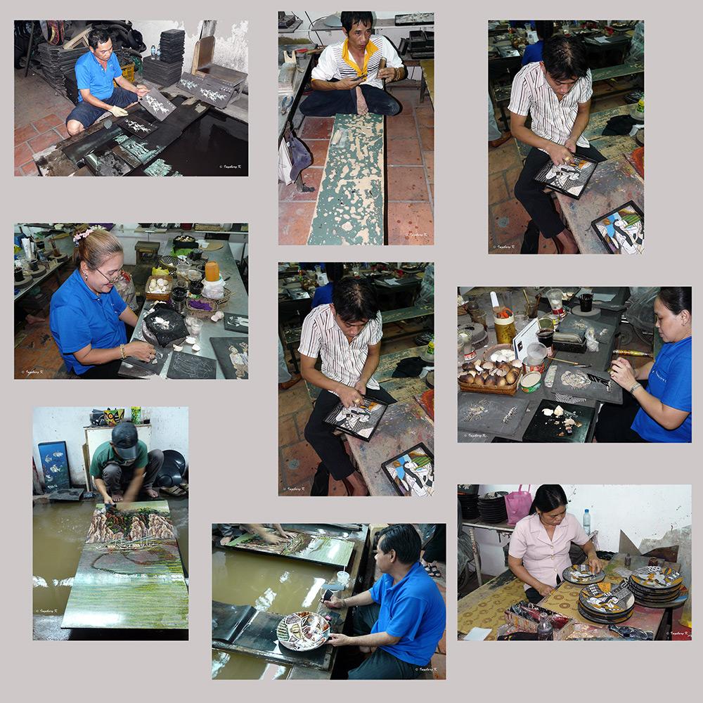 Werkstatt für Intarsien- und Lackarbeiten