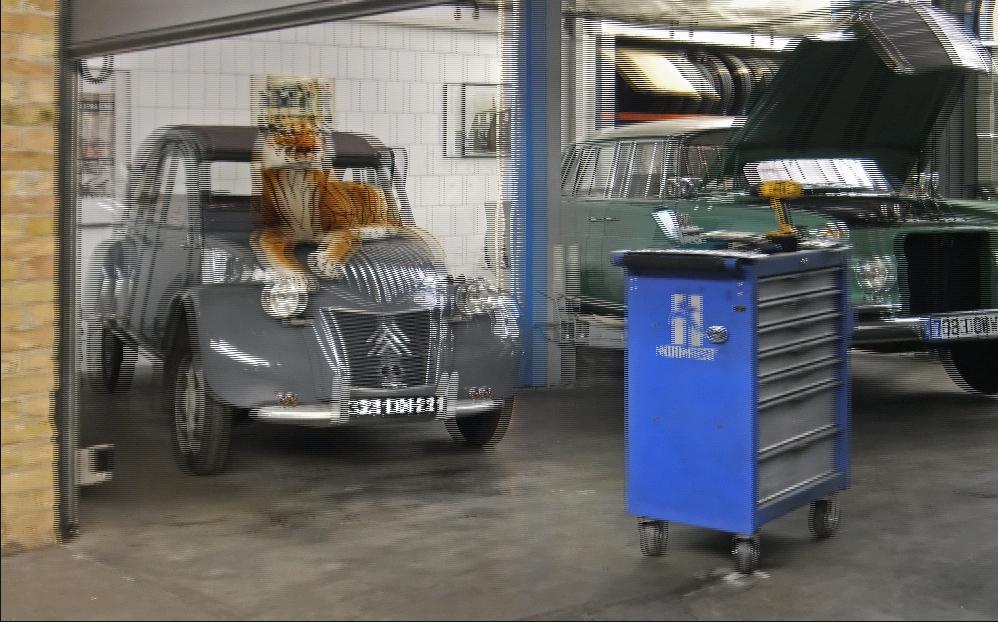 Werkstatt Tiger (3D)