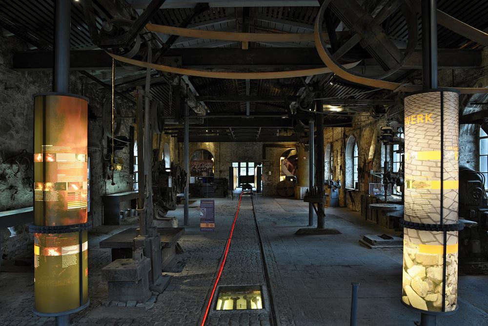 Werkstattgebäude Basaltindustrie Stoeffel Park Westerwald
